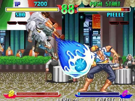 街机游戏中最具创新的波动必杀技,撑起了格斗游戏的半壁江山